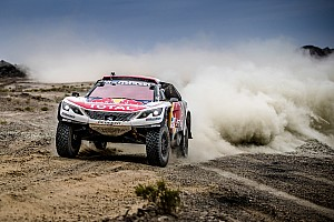 Cross-Country Rally Rennbericht Peugeot-Fahrer Cyril Despres gewinnt Silk-Way-Rallye 2017