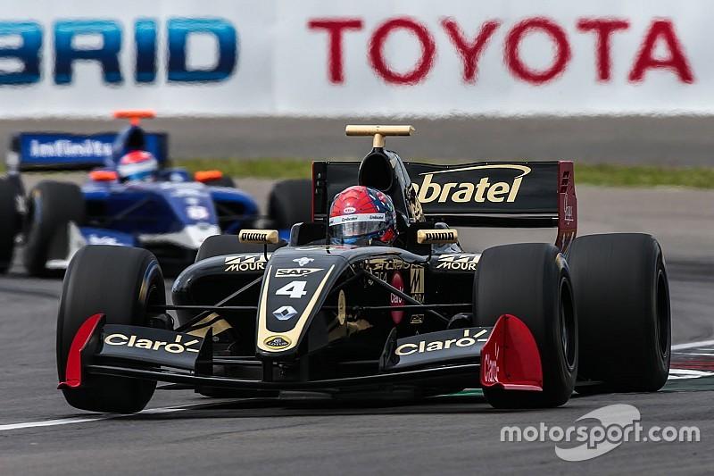 Fittipaldi repite pole para la segunda carrera de la 3.5 en México