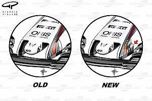 Formel 1 Analyse Formel-1-Technik: Die Updates am Williams FW40 in Silverstone