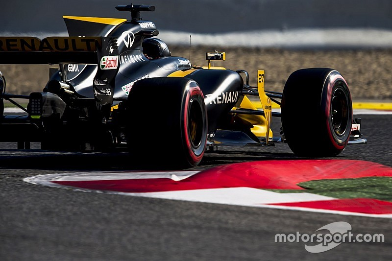【F1】ヒュルケンベルグ、新ピレリタイヤで「全開レースまだ無理」