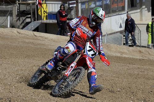 Alessandro Lupino vince e convince nella MX1 a Cingoli