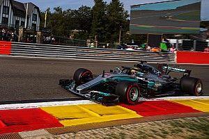 比利时大奖赛FP2:汉密尔顿冲上头名