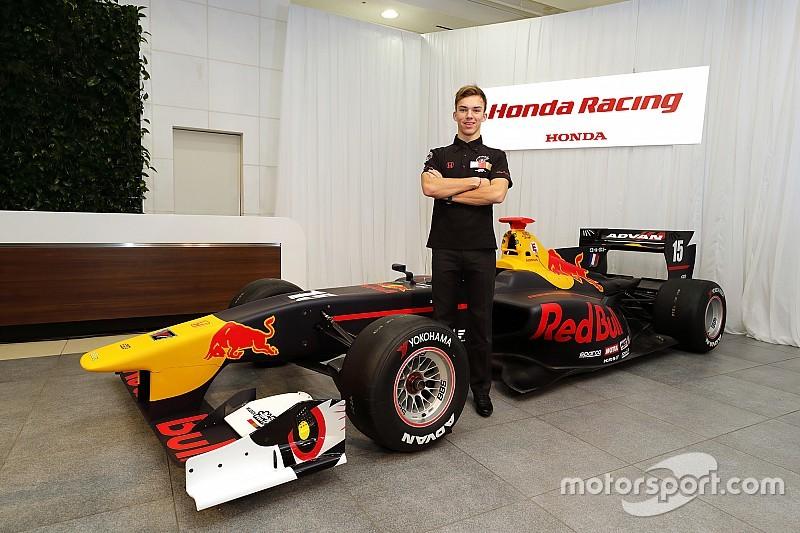 Gasly confirmed at Mugen for 2017 Super Formula season