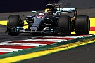 Hamilton lideró en la primera práctica de Austria