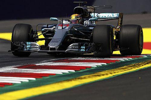 Hamilton voa e comanda primeiro treino livre na Áustria