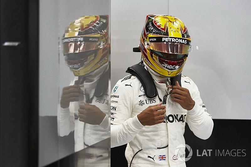 """Lewis Hamilton élu """"Pilote du Jour"""" du GP de Belgique 2017"""