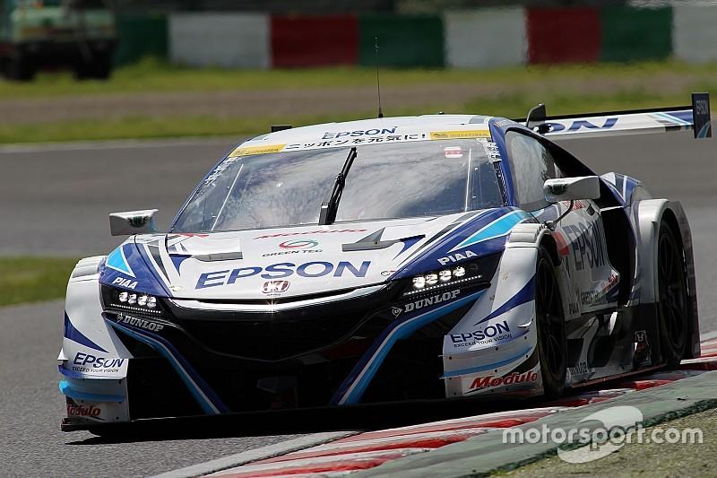 【スーパーGT】鈴鹿GT500途中経過:ランキング上位陣に続々ハプニング、64号車首位
