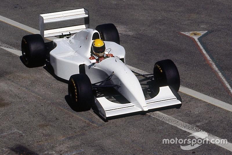 Ma 25 éve, hogy Senna egy Lamborghini motorral szerelt McLarent tesztelt a Forma-1-ben