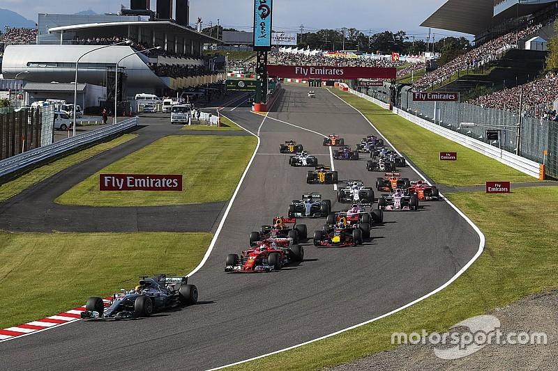 Confira os horários do GP do Japão de F1