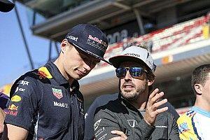 """Verstappen quer Alonso de volta à Fórmula 1: """"Um dos melhores"""""""