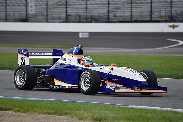 Pro Mazda Race report Indy GP Pro Mazda: Franzoni leads start to finish in Race 2