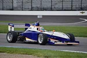 Pro Mazda Race report Indy GP Pro Mazda: Franzoni leads start to finish in Race 2