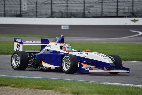 Indy GP Pro Mazda: Franzoni leads start to finish in Race 2