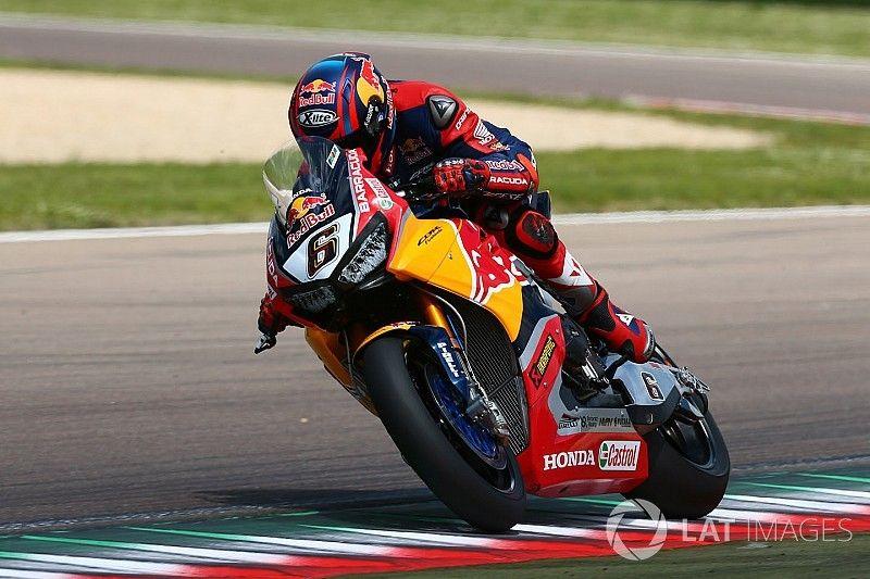 Honda enters sole bike for Donington after Hayden's passing