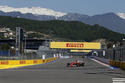 Vettel mantém domínio da Ferrari e lidera TL3 na Rússia