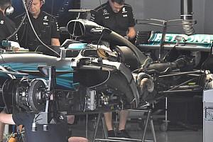 Formel 1 Feature Video: Die Updates am Mercedes W08 als 3D-Animation