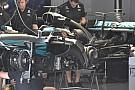 Mindkét Mercedes az új aeróval gurul pályára pénteken