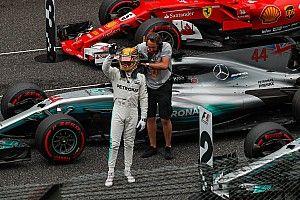 """Hamilton y su primera pole en Suzuka: """"Es de locura"""""""