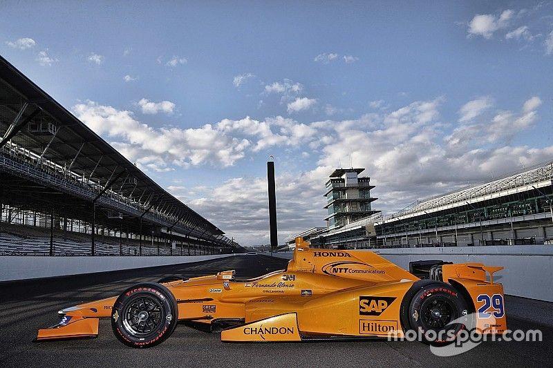 McLaren-Honda presenteert auto voor Indy 500-debuut Fernando Alonso