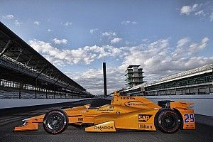 Livery unveiled for Alonso's Indy 500 campaign