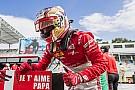 FIA F2 Leclerc dedicates
