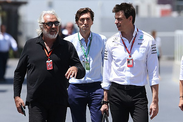 Formula 1 Breaking news Wolff: Briatore dinner not about Alonso deal