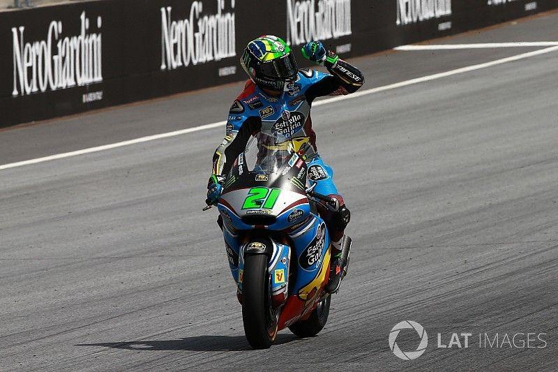 Austria Moto2: Morbidelli comes out on top in tense battle
