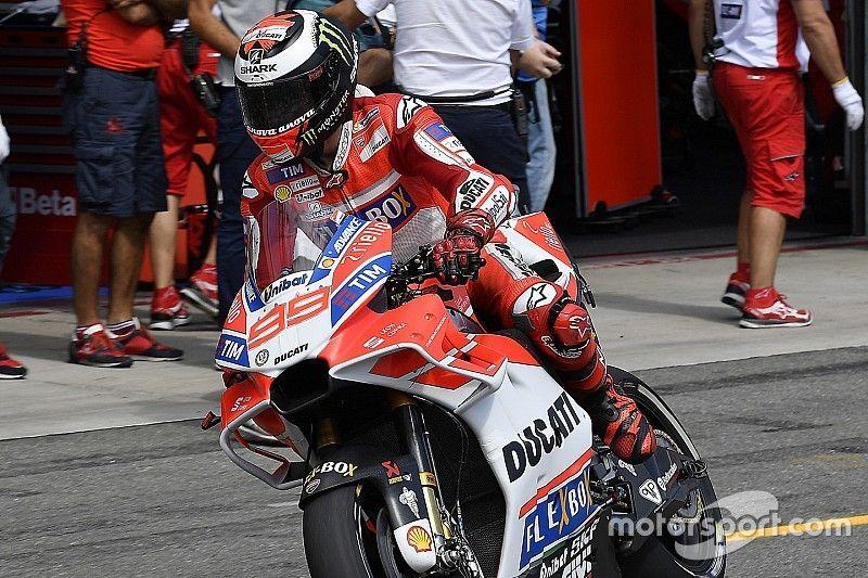 Jorge Lorenzo: Flag-to-Flag-Rennen der MotoGP sind gefährlich