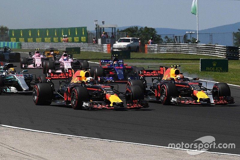 Verstappen présente ses excuses à Ricciardo et Red Bull