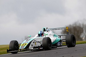 Formula 4 Breaking news F4 racer Monger suffers leg injuries in horror Donington crash