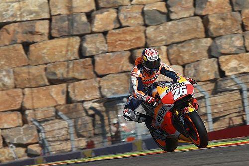 Pedrosa deuxième après une belle bataille avec les Yamaha