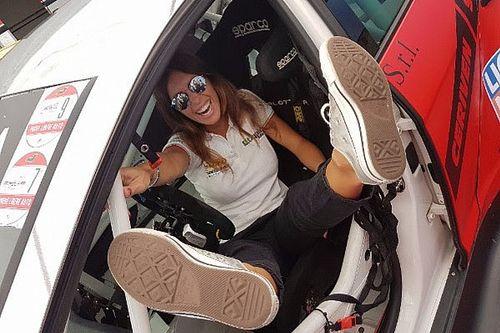 Carlotta Fedeli a Vallelunga nel TCR Italy con Pit Lane Competizioni