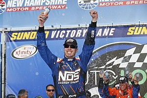 Kyle Busch takes NHMS Xfinity win, Ty Dillon and Alex Bowman clash