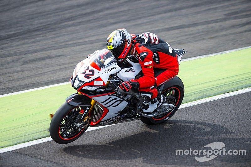 Savadori joins Laverty in Aprilia's factory Superbike team