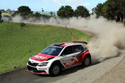 New Zealand APRC: Kreim heads Gill in Team MRF 1-2 after Day 1