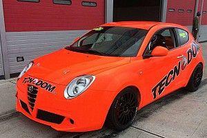 Primo test ad Adria per l'Alfa Romeo Mito TCS della Tecnodom Sport