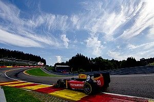 Spa GP2: Giovinazzi leads all-rookie podium in sprint race