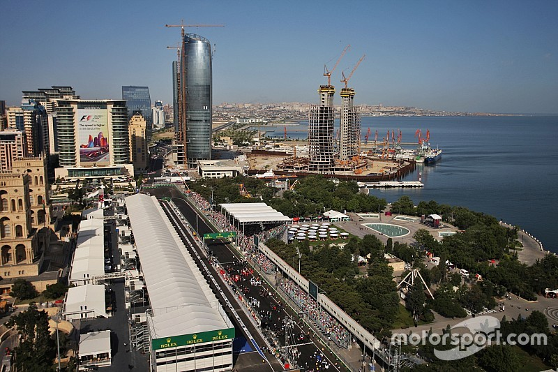 Carey apologised to Baku for F1 criticisms