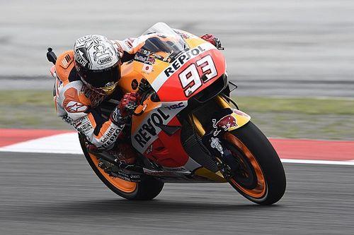 """Marquez targets podium despite """"not feeling 100 percent"""""""