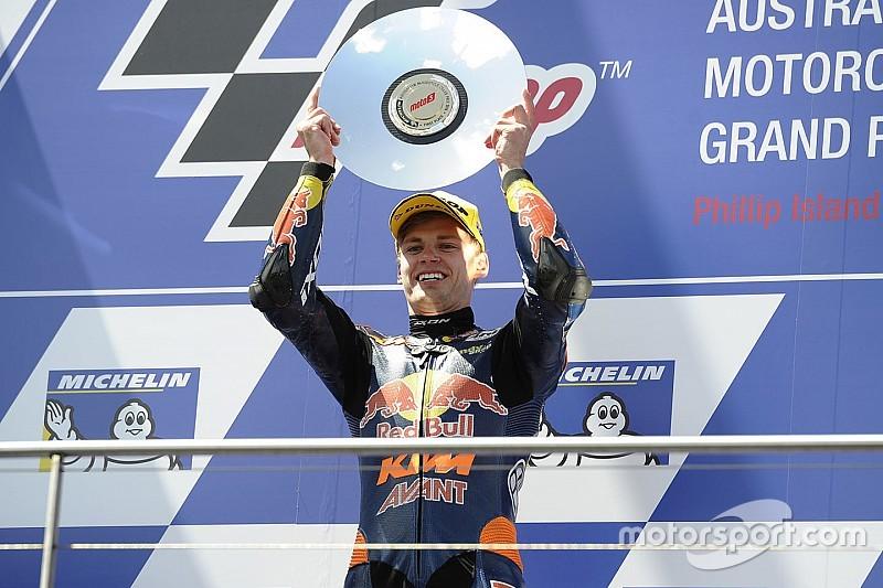 Australian Moto3: Binder wins crash-affected race at Phillip Island