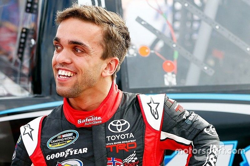 Rico Abreu to make NASCAR Truck return at Eldora