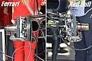 Технический брифинг: сравнение конфигурации тормозов Ferrari и Red Bull
