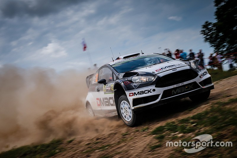 Poland WRC: Tanak scores hat-trick of stage wins, pulls clear