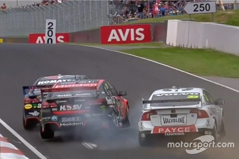 Whincup apologises to HRT and Volvo for collision