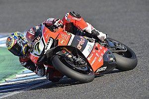 Jerez WSBK: Davies takes third straight win in Race 1