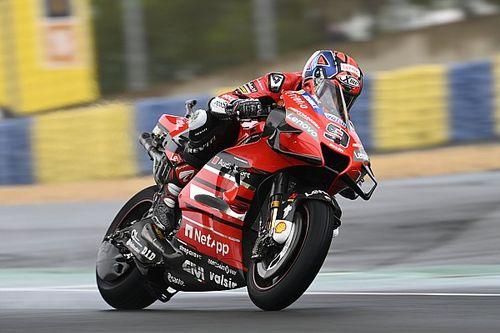 MotoGPフランス決勝:番狂わせのウエットレース、ペトルッチ制す。マルケス弟初表彰台