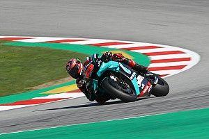 Quartararo topt derde training GP Catalonië, Dovizioso naar Q1
