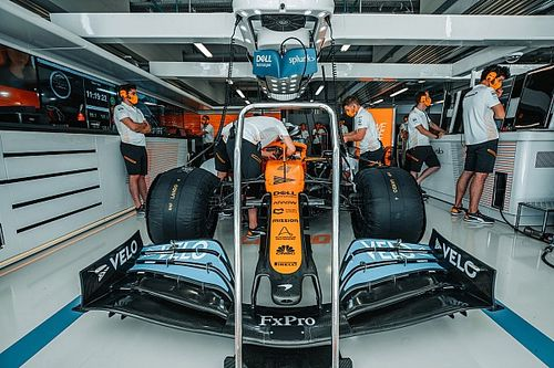 McLaren a démarré son moteur Mercedes à Woking