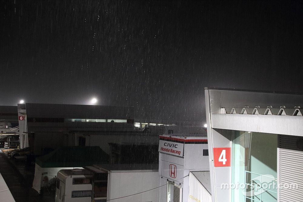富士24時間レース決勝|天候回復の見込み立たず……赤旗中断がさらに長引く