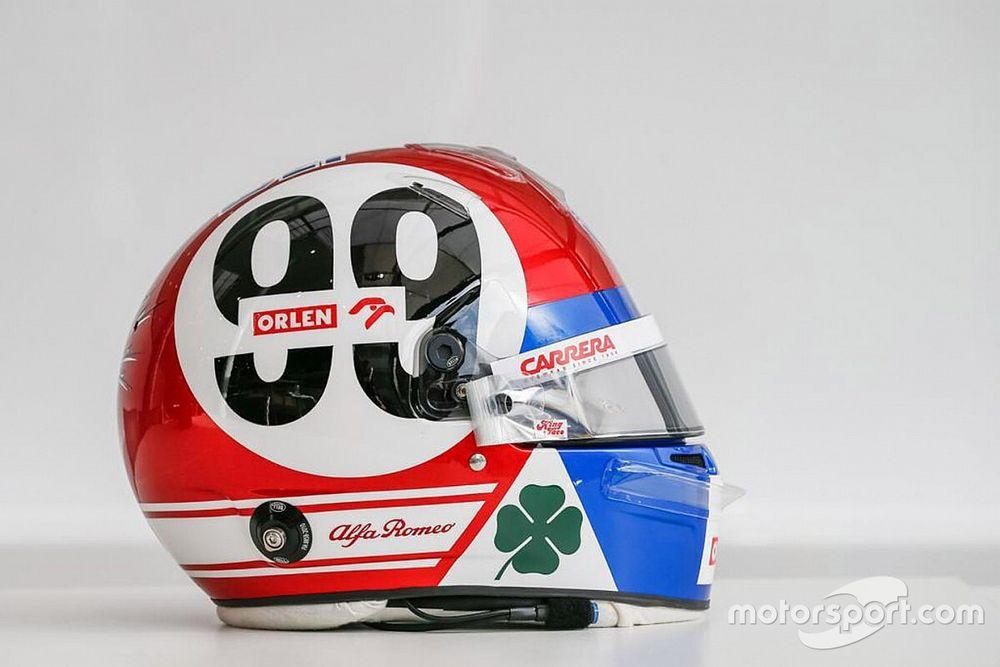 F1: Giovinazzi dedica il casco di Imola all'Alfa Romeo Tipo 33